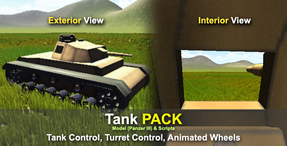 Tank PACK: Model + Scripts