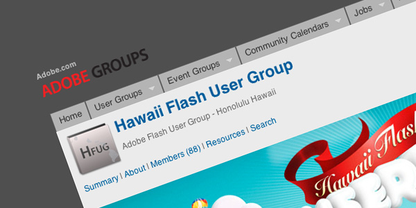 Hawaii Flash User Group