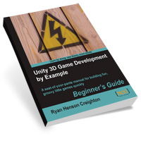 "Preview for Win a Copy of ""Unity 3D Game Development by Example"" - Winners Announced"