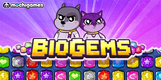 BioGems, a great match-3 brawler.