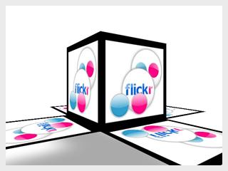 Flickr Box AIR App