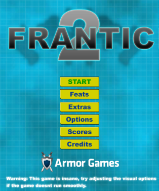 Frantic 2 Game Design Critique