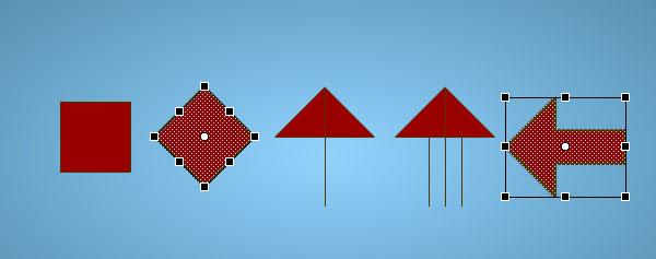 create an arrow