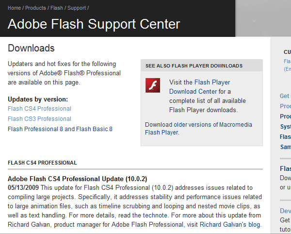 adobe flash cs3 download