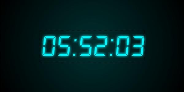 flash clock