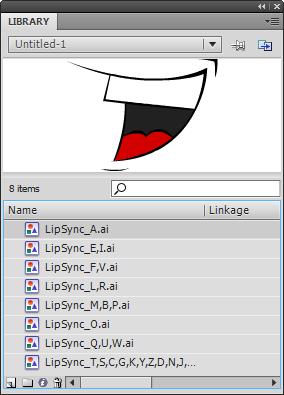 Flash Lip Sync assets