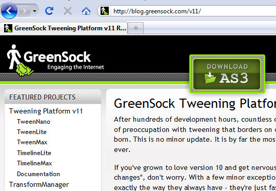 Build a Slider Microsite with GreenSock's Timeline Lite
