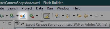 Export Release Build
