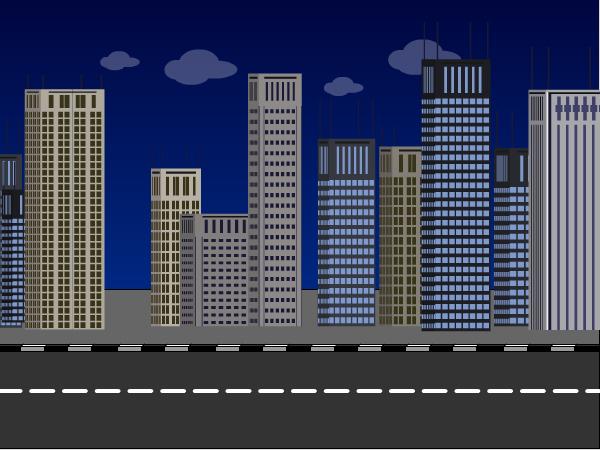 Cartoon Sidewalk Background
