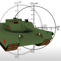 Preview for Deploy a Tank on a Mission in an Isometric War Zone