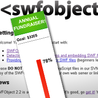 Preview for Pass Values to a SWF with JavaScript and SWFObject