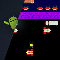 Preview for Flash for Android: Flixel Frogger on Nexus One and HTC Evo