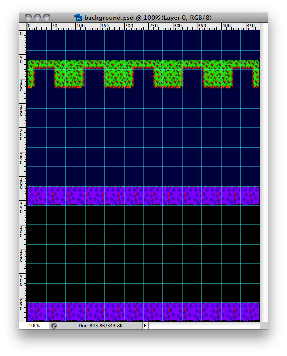 frogger-background