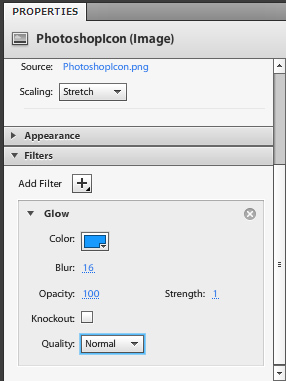 Assign Over State to PhotoshopIcon Layer