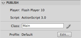 Flash OSX stacks effect