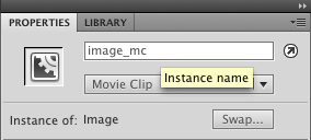Setting the instance name