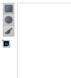 Placing the color picker component on the stage