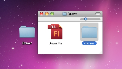 The classes folder