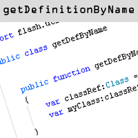 Preview for Quick Tip: Understanding getDefinitionByName()
