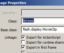 Export for Actionscript
