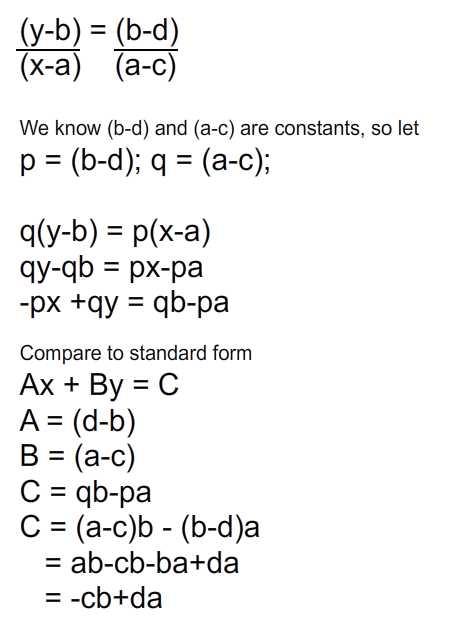 derive constants