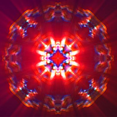 Aetuts retina shiny kaleidoscope