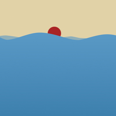 Preview for Using Shape Layers to Create a Vector Water Animation