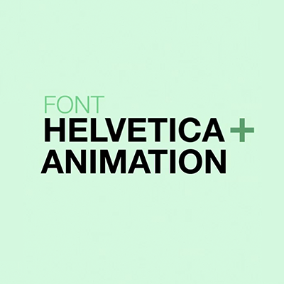 "Preview for Download the ""Helvetimation"" Animated Font - Tuts+ Premium"