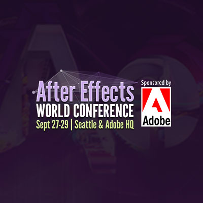 Preview for Meet Tuts+ at the After Effects World Conference