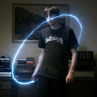 "Preview for Create an Illuminating ""Light Painting"" Effect"