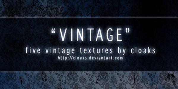 Vintage Texture Pack I