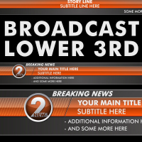 Preview for Design Your Own Broadcast Lower Thirds