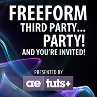 Preview for FreeForm Third Party.... Party! And You're Invited!