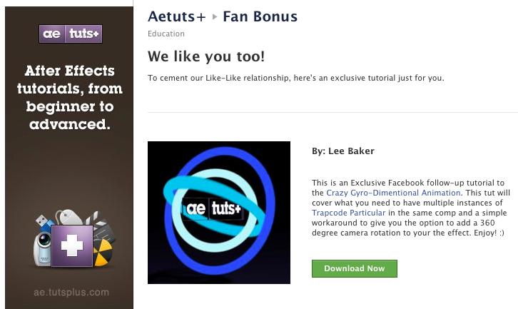 Facebook Bonus Tutorial