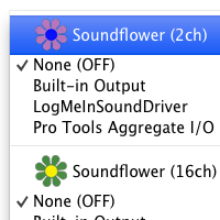 Preview for Quick Tip: Routing Audio Between Applications Using Soundflower