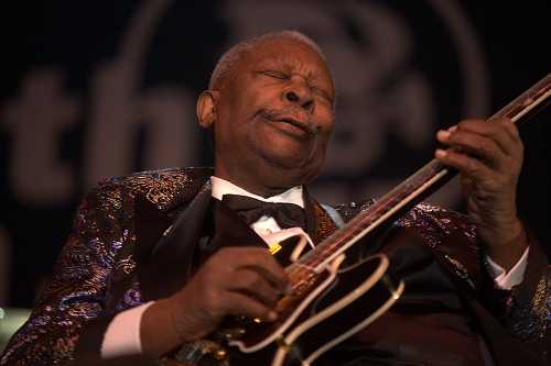 B.B. King (Photo by Tom Beetz)