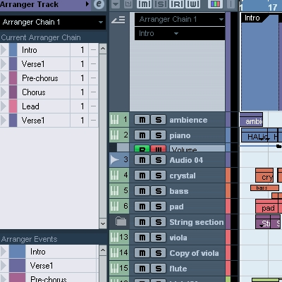 Preview for Improve Your Arrangement With the Arranger Track