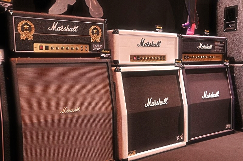 Marshall Anniversary edition guitar amplifiers by fvancini