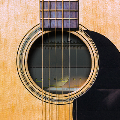 Beef up acoustic guitars with strumgtr 400