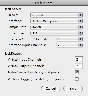 Working With Internal Audio Routing: JACK Audio
