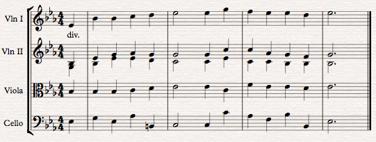 How to Arrange 4-Part Harmony for Strings