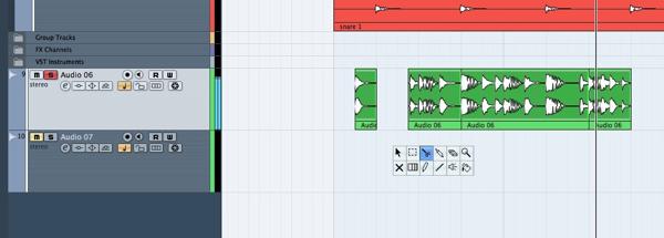 how to create drum loops in garageband