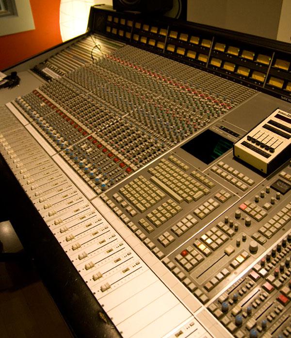 Inline audio mixer