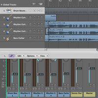 How to Use Selective Track Import in Logic Pro 9