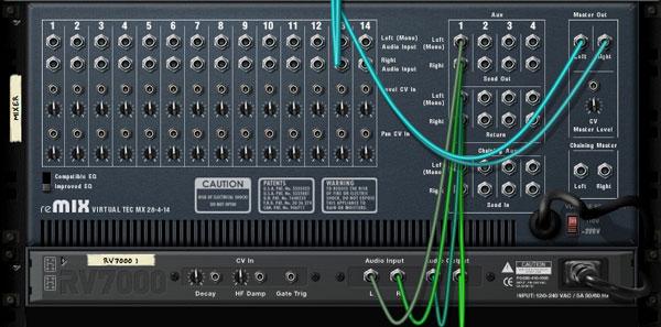 getting to know propellerhead reason 4 u2032s mixer device rh music tutsplus com Dynamic Range Compression Aux Send to Monitor