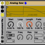 Preview for Ableton Live Racks: Creating an Instrument from Simple Waveforms