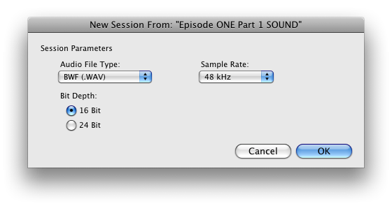Pro Tools, OMF's and the Audio Post Workflow