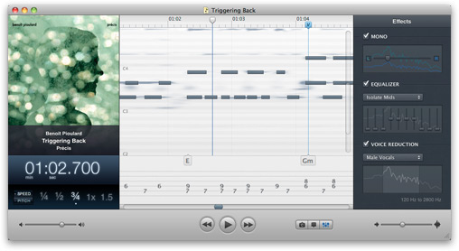 mac app for slowing down music