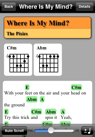 Jam Your Ipad Full Of Chord Charts