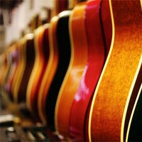 How to Create a Wall of Acoustic Guitars